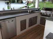 Induktionskochfeld für die Outdoor Küche