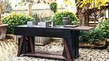 013 Schwarze Edelstahl Outdoorküche von BBQube