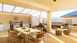 019 BeefEater Outdoorküchen Grillzeile auf der Terrasse