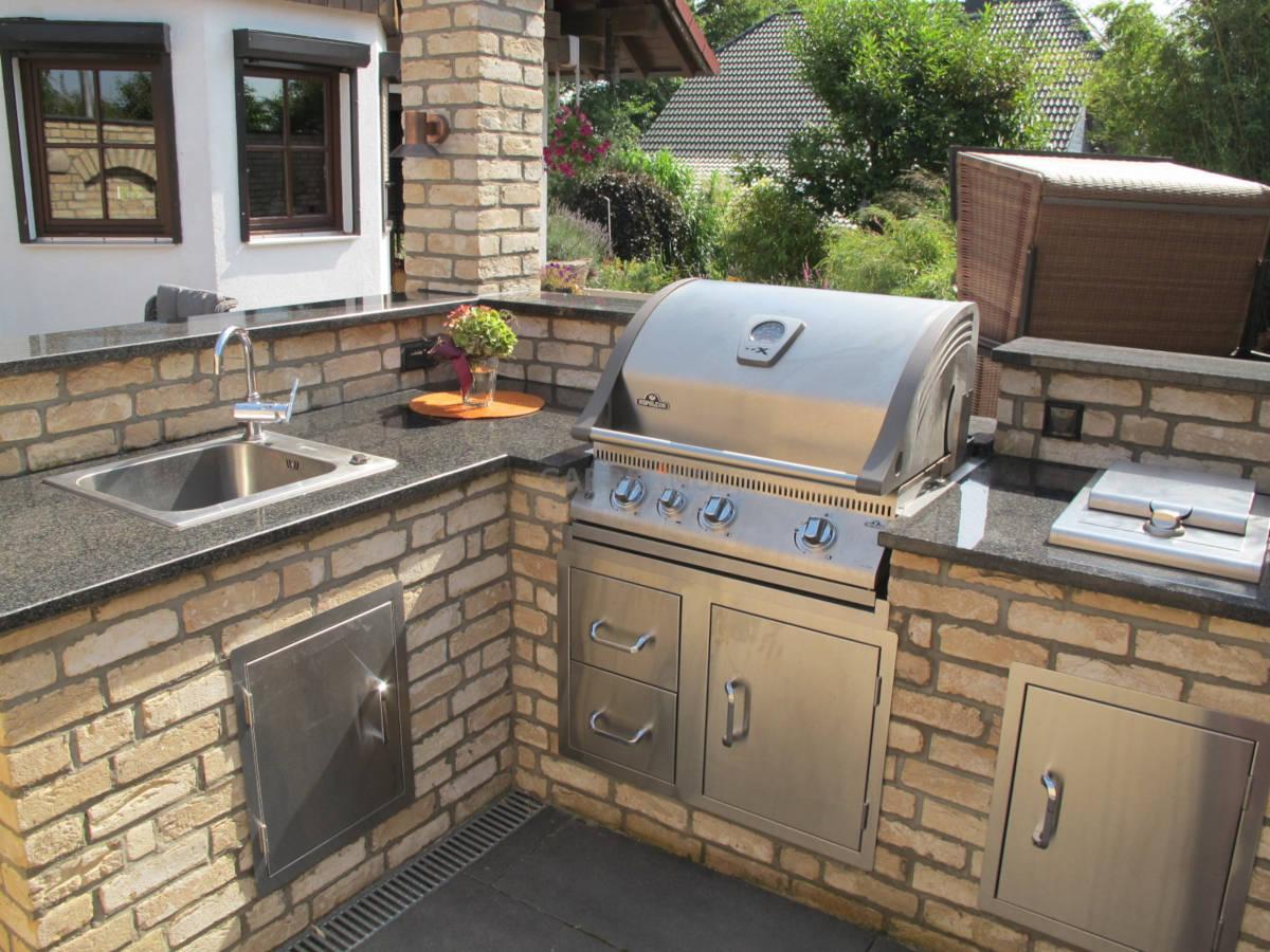 Outdoor Küchen Aus Stein : Outdoor küchen bilder galerie