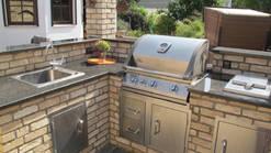 Outdoorküche Aus Stein : Die gartenküche der neue outdoortrend zuhause bei sam