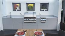 033 Design Outdoor Küchenzeile