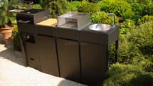 Mobile Gartenküche von oneQ (ID:046)