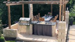 Außenküche aus Stein (ID:059)