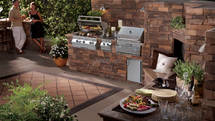 Fire Magix Outdoor Küche aus Stein (ID:074)