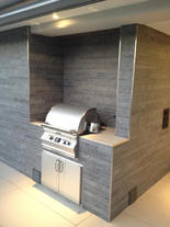 Grillstation mit Fire Magic Einbaugrill (ID:091)