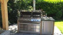 Outdoor Küche mit Napoleon Grill (ID:092)