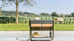 Mobile Gartenküche Trolley von Induplus (ID:115)