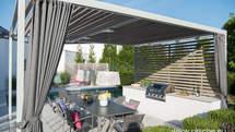 Design-Outdoor Küche mit BeefEater Grill (ID:119)
