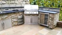 Individuell gebaute Outdoor Küche vom Profi (ID:120)