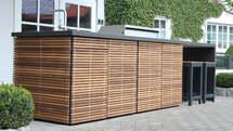 Outdoor Küche Cubic von Herrenhaus aus Holz (ID:121)