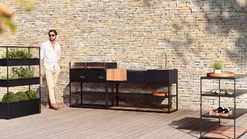 Modernes Outdoor Küchen System von Rüshults (ID:139)