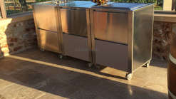 Mobile Außenküche für den Garten von Joko Domus (ID142)