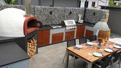 Sommerküche mit Grill und Pizzaofen (ID:192)