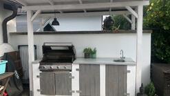 Gartenküche aus Holz (ID:224)