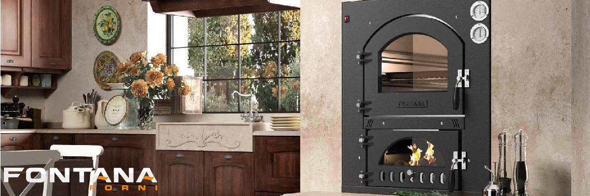 Holzbackofen von Fontana Forni online kaufen