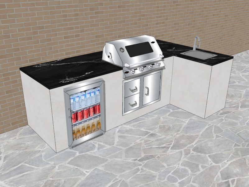 Outdoor Küche Verputzen : Outdoorküche designservice outdoorküchen kostenlos visualisieren