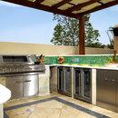 BeefEater SL4000 Gasgrill in Luxusaußenküche