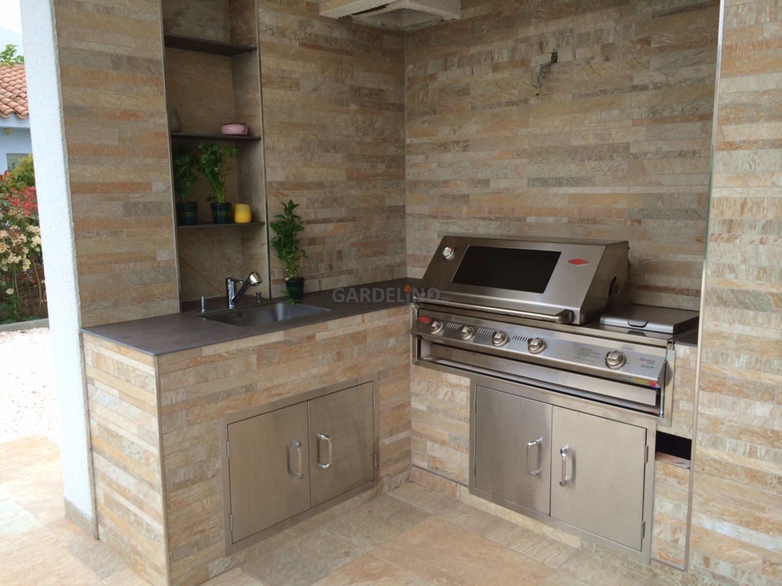 einbaugrill shop built in grill vom outdoor k chen profi. Black Bedroom Furniture Sets. Home Design Ideas