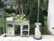 Modul-Outdoor Küche mit Grill