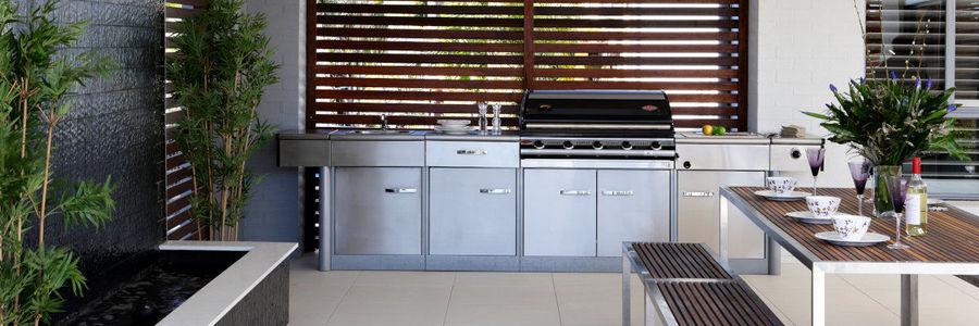 Fertige Outdoor Küchen Systeme