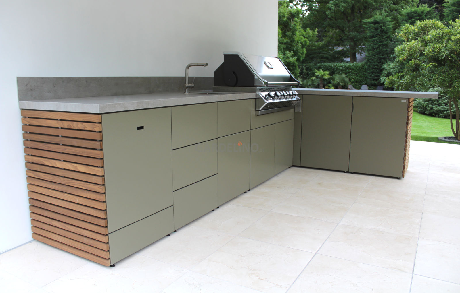 Schränke Für Außenküche : Fertige outdoorküchen lösung für ihren garten