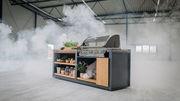 Fertige Outdoor Küchen Lösung