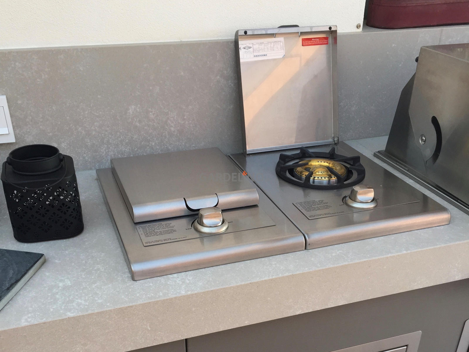 Outdoor Küche Gas : Kochfeld seitenbrenner für die outdoor küche