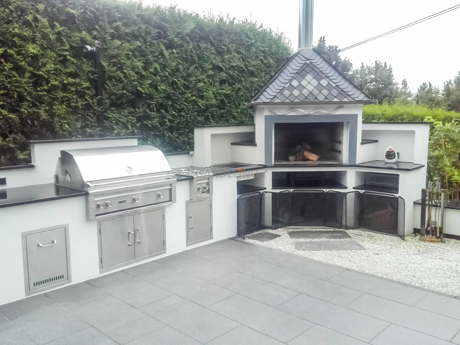 Türen Für Außenküche : Außenküchen draußen ist das neue drinnen