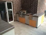 Komponeten für die Außenküche