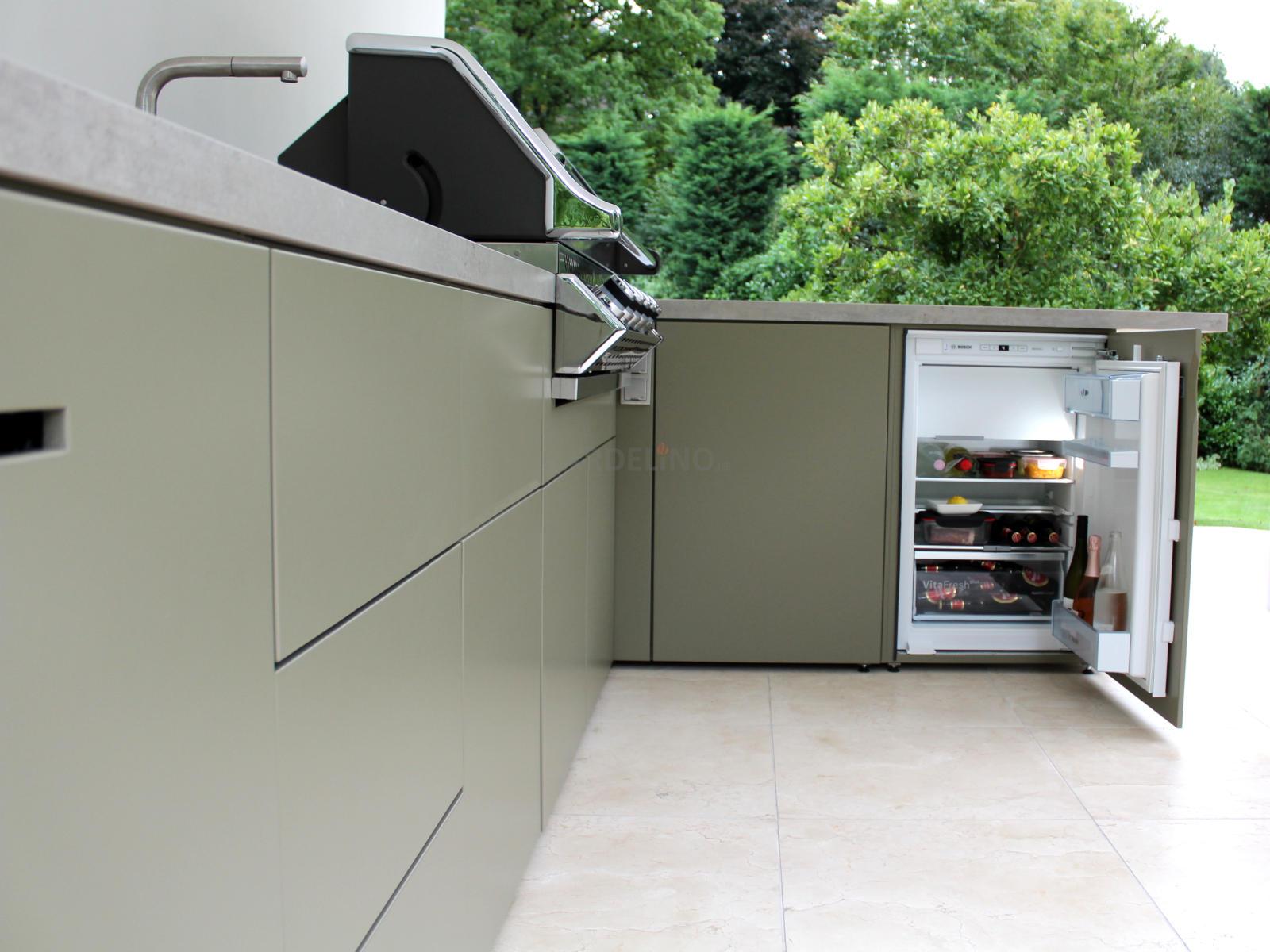 Outdoor Küche Edelstahl Vergleich : Kühlschrank für die outdoor küche und den garten