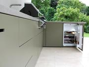 Kühlschrank für die Outdoor Küche