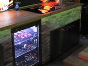 Outdoor Kühlschrank mit Licht