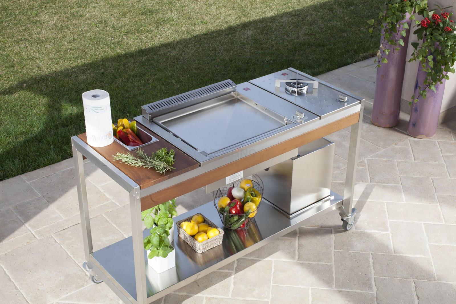 Outdoorküche Gasgrill Kaufen : Mobile outdoorküchen für garten und terrasse