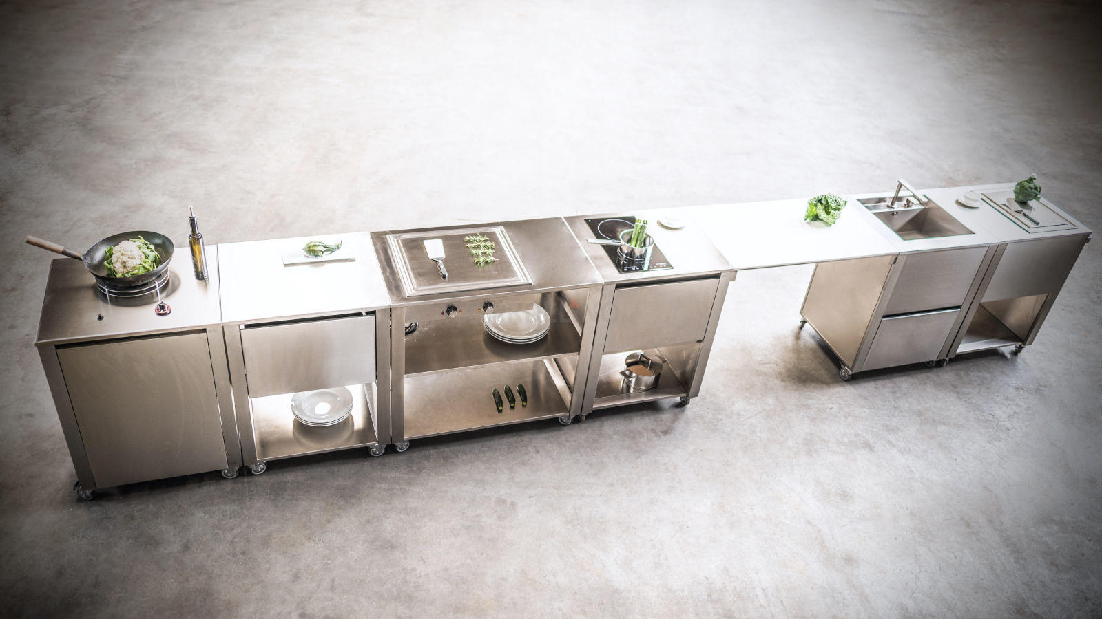 Outdoor Küche Auf Rädern : Mobile outdoorküchen für garten und terrasse
