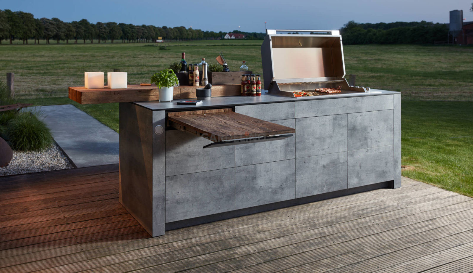 Outdoor Küchen Bilder : Outdoor küche kaufen für garten und terrasse