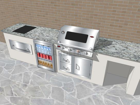 Beefeater Einbautür Für Außenküchen : Outdoor küche kaufen für garten und terrasse