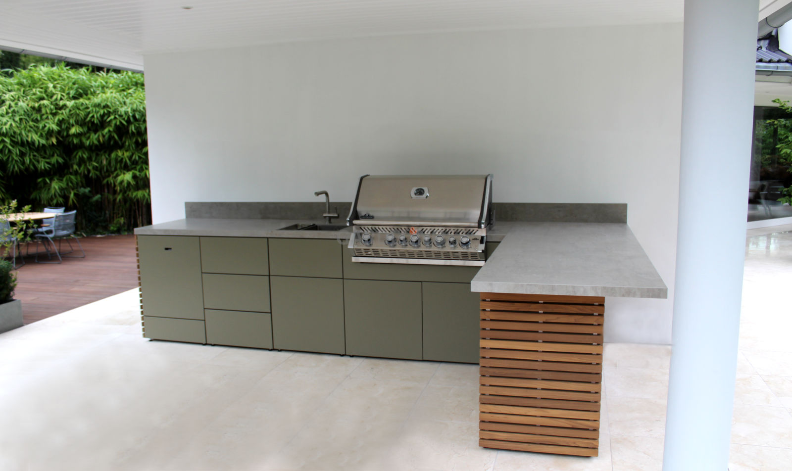 Outdoor Küchen Plan : Outdoorküchen systeme für den außenbereich