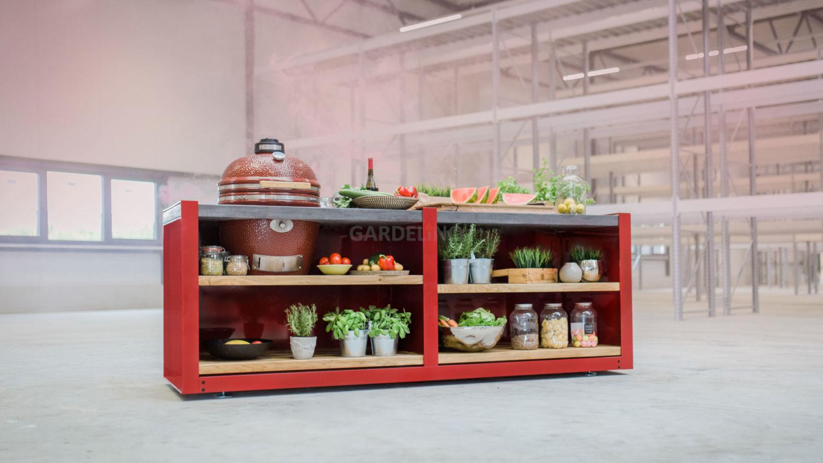 Outdoorküche Bausatz Preis : Outdoorküchen systeme für den außenbereich