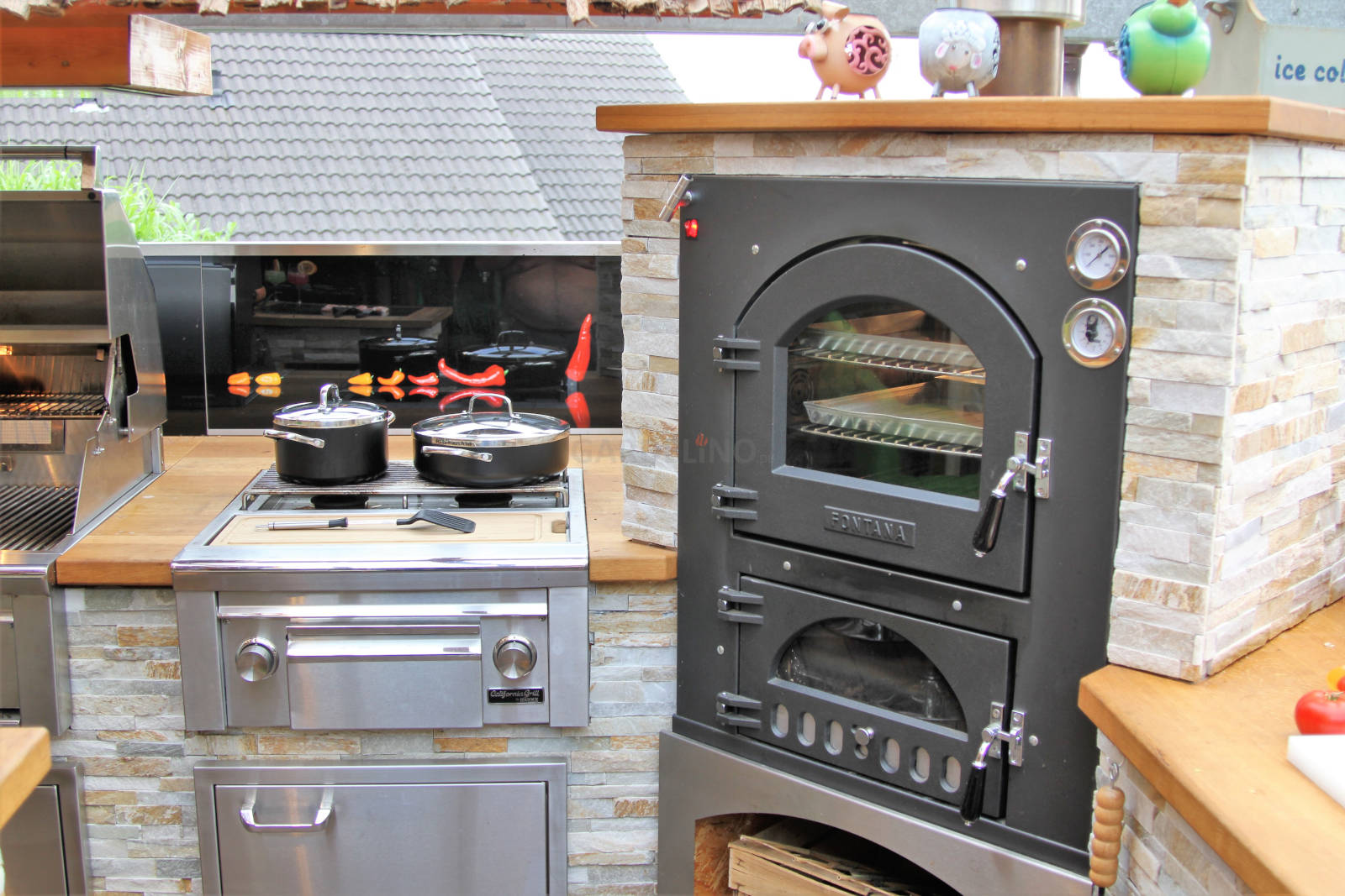 Outdoorküche Bausatz Erfahrung : Pizzaofen bausatz für den garten und die outdoor küche