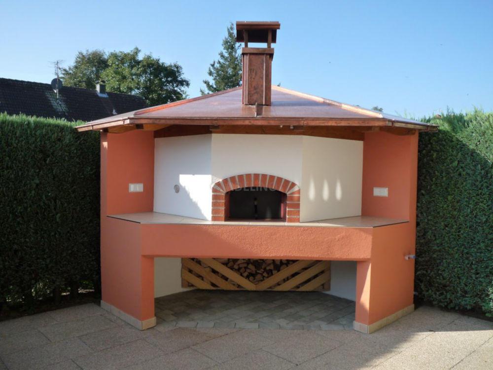 Outdoor Küche Bausatz : Pizzaofen bausatz für den garten und die outdoor küche