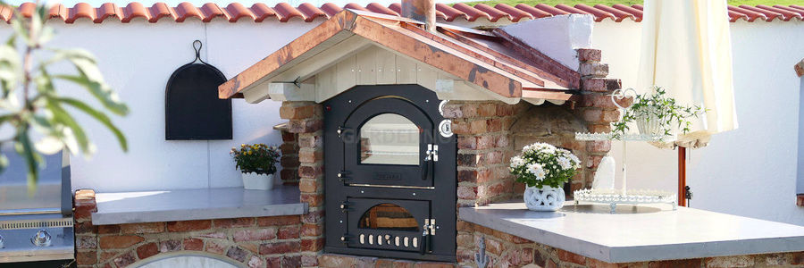 Pizzaofen Bausatz für die Outdoor Küche