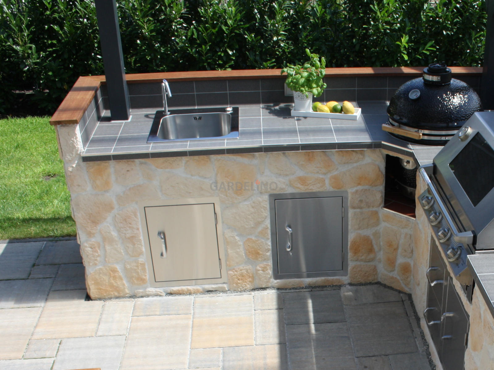 Outdoor Küche Zeichnen : Spüle für die outdoor küche und den garten