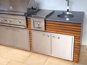 Lynx Türen für die Outdoor Küche