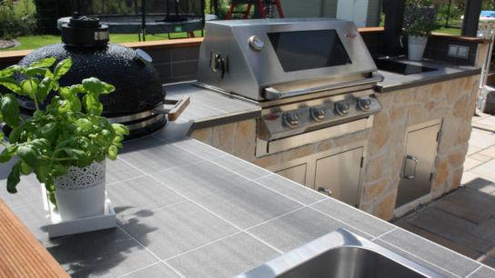 Outdoorküche Bausatz Deutschland : Outdoorküchen für den garten riesen auswahl