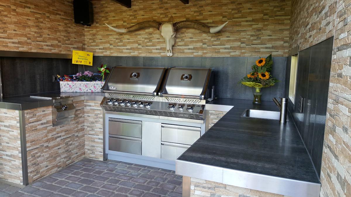 Outdoor Küche Utensilien : Outdoor küchenzeile: outdoor küchen aus stein: outdoor küche aus