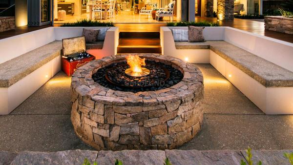 Ethanol Feuerstelle für den Outdoor Bereich