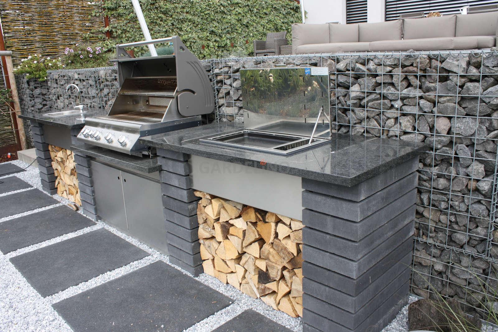 Outdoor Küche Edelstahl Unterschied : Bauplan outdoorküche selbst