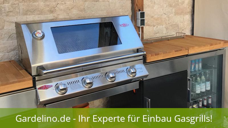 Außenküche Mit Gasgrill Preise : Einbau gasgrill für die outdoor küche