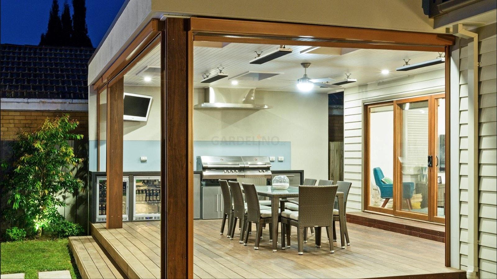 Outdoor Küche Modern : Moderne outdoor küche von fresco frames